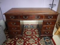 repro antique style desk