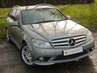 DIESEL ESTATE**(10-59)Mercedes-Benz C Class 2.1 C200 CDI Sport 5dr ***OUTSTANDING VALUE***FINANCE ME