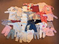 Up to 1 month clothes bundle - girl