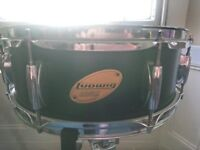 Ludwig 13inch snare drum, plus stand *REDUCED*