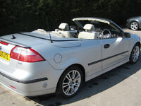 Saab 9-3 Vector Sport convertible LPG Dual Fuel. Save the planet!