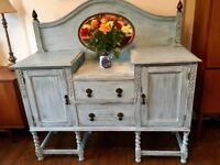 Vintage Oak Sideboard / Dresser