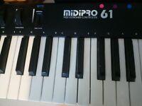 Midi Pro 61 Midi Controller