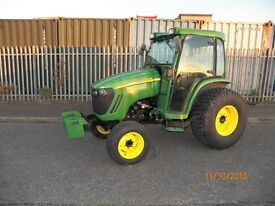 JOHN DEERE 4320 HEAVY DUTY COMPACT TRACTOR,900 HOURS,48HP,FULL CAB,NO VAT,IMMACULATE