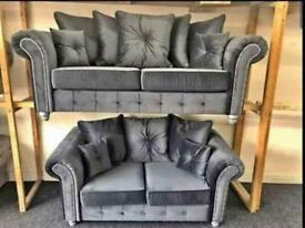 Brand New Plush Velvet Sofa
