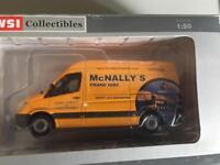 McNally's Heavy lifter cranes two plus Mercedes service van