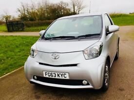 Toyota iQ 1.0 VVT-1 63 reg Low 17K MILES Manual Silver 3 door £0 Tax, Excellent Condition must view