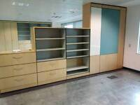 Large selection of office storage units. Del available. Price is from