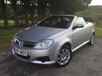 Vauxhall Tigra 1.4 convertible low tax insurance get ready spring/summer