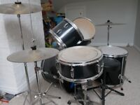 Full Performance Percussion drum kit with Planet Z cymbals