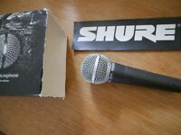 Shure SM58, barely used