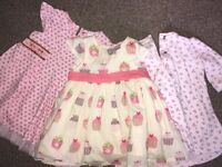 Baby girl clothes - Newborn, 1 month and 0-3m