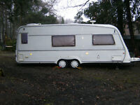 "VAN ROYCE Luxury caravan 560TA twin axle 21' 3"" long 24' 3"" shipping length, year 1994"
