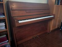 Chappell Upright Piano (1977-8) Tuned to Concert Pitch - Very Good Condition