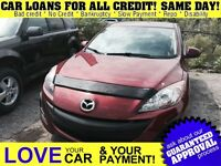 2011 Mazda MAZDA3 SPORT GX * CAR LOANS FRO ALL CREDIT
