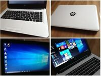 CAN DELIVER BRAND NEW condition unwanted gift fast working laptop HP Windows 10 Pro, MS Office