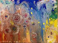 Abstract painting sale only £65