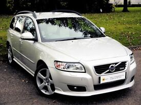 AUTOMATIC ESTATE (2011) Volvo V50 2.0 D4 R-Design Geartronic 5dr ****YES 29000 MILES** RARE