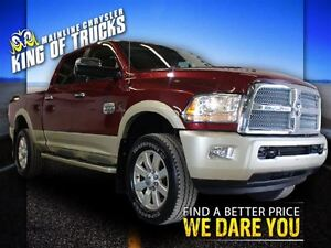 2015 Ram 3500 Crew Cab Pickup | One Owner | Low Km | Fully Loade