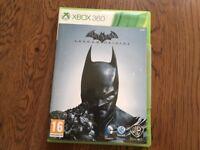 Batman Arkham origins Xbox 360 game