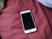 Brand New Iphone 6s 16GB in Rose Gold. Out of Packaging but only two days old.