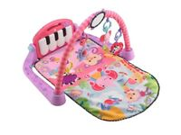 Baby fisher price kick and play piano mat
