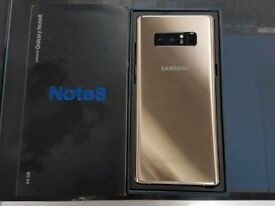 Note 8 gold ( 64gb + 32gb sd card )