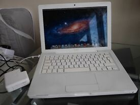 "Apple MacBook 13"" - Late 2008 - Intel Core 2 Duo 2.1GHz - 2GB RAM - 160GB HDD - OS X Lion - MagSafe"