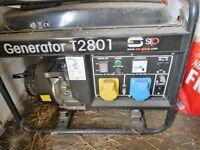 Brand new generator, never used still has plastic on.