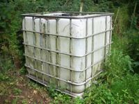 AGRICULTURAL / HORSES DRINKING WATER CONTAINER 1000 LITRES