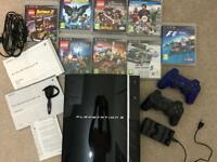 Play station 3 GAME BUNDLE in excellent used condition lots of extras read description & see photos