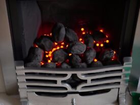 Goldflame ultra modern gas fire , as new ,coal effect