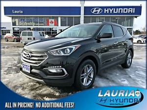 2017 Hyundai Santa Fe Sport 2.4L FWD Auto - ONLY 82, YES, 82kms!