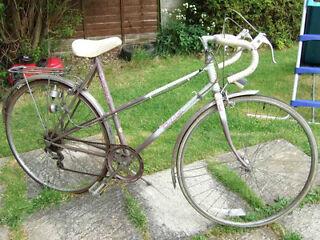 Vintage Raleigh Panache 5-Speed Size-19 Ladies Road Bike in Full Working Order