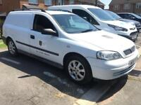 2001 Vauxhall Astra van with tow bar