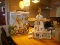 Sylvanian Field view Windmill