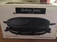 Andrew James Cafe Raclette - Brand New