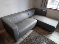 1 Grey Right-Hand Corner sofa