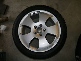 """Audi A3 17"""" Alloy Wheels and Winter Tyres"""