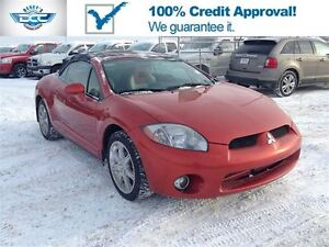 2007 Mitsubishi ECLIPSE SPYDER GT-V6!! Convertible!! Amazing Val