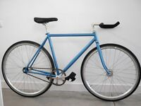 51cm fixed gear Bianchi Pista / NJS 3Rensho Japanese fork / NJS parts / Dura-Ace + tools and extras