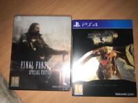 Limited edition final fantasy games PS4 £13 each