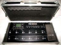 SWAN Hard Case , Guitar Pedal Board for Line 6 POD , Digitech , Rocktron , Zoom , Korg , Roland .