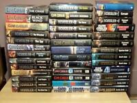39 CLIVE CUSSLER HARD BACK BOOK'S COLLECTION
