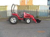 MASSEY FERGUSON 1540 HEAVY DUTY COMPACT TRACTOR,LOADER,900hrs,2013 YEAR,NO VAT