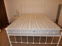 Edwardian King sized Double Bed - mattress not included