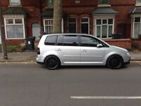 Vw touran silver tdi one of the kind