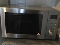 Microwave combi oven