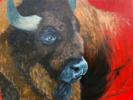 Otis the Bison - Emily Johnston Artist