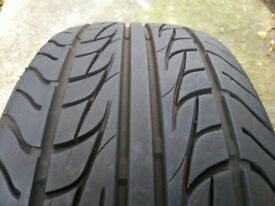 * * * 215/45r18 Nankang tyre like new, 18 inch tire * * * *